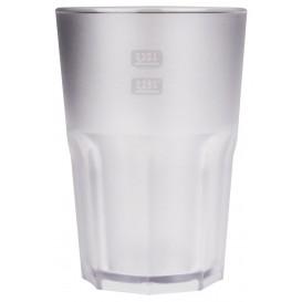 Kubki Wielokrotnego Użytku SAN Frost Przezroczyste 400 ml (75 Sztuk)