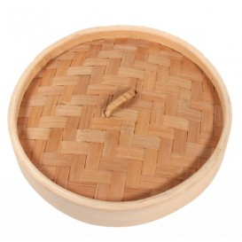 "Bamboo Lid for Steamer ""Maxi"" Ø30cm (16 Units)"