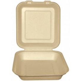 Opakowania MenuBox Trzciny Cukrowej Naturalne 20x20x7,5cm (50 Sztuk)