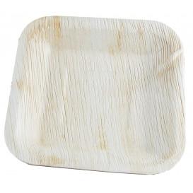 Talerz Kwadratowi Liści Palmowych 20x20cm (25 Sztuk)
