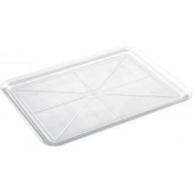 Tacki Plastikowe Tray Przezroczyste 37x50cm (4 Sztuk)