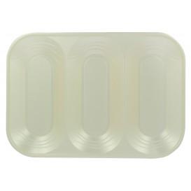 "Tacki Plastikowe PP ""X-Table"" 3C Perła 330x230mm (30 Sztuk)"