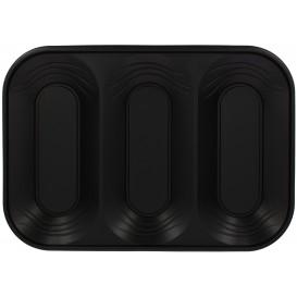 "Tacki Plastikowe PP ""X-Table"" 3C Czarni 330x230mm (2 Sztuk)"