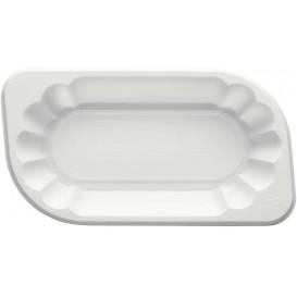 Tacki Plastikowe PS Białe 175x95x30mm 250ml (250 Sztuk)
