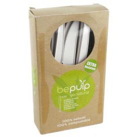 Nóż Biodegradowalny CPLA Białe 160mm w Pudełku (500 Sztuk)