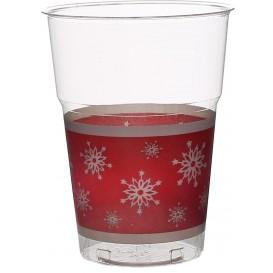"""Vaso Plastico """"Diamant"""" PS Cristal Copo de Nieve 200ml (10 Uds)"""