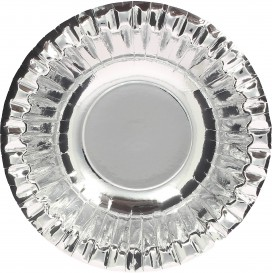 "Bol de Cartón ""Party"" Plata Ø160mm (90 Uds)"