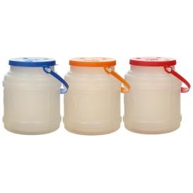 Carafe Przezroczysty z Uchwytami i Pokrywka do 500 ml (10 Sztuk)