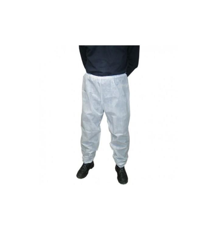 Spodnie TST PP Przemysłl Białe (100 Sztuk)