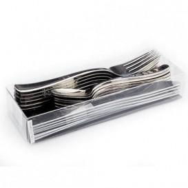 Kit Widelczyki, Nóż i Łyżka Metaluizowanes (1 Kit)