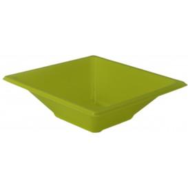 Miski Plastikowe PS Kwadratowi Pistacja 12x12cm (12 Sztuk)