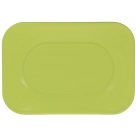 "Bandeja de Plastico PP ""X-Table"" Lima 330x230mm (60 Uds)"