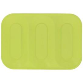 "Tacki Plastikowe PP ""X-Table"" 3C Limonka 330x230mm (30 Sztuk)"