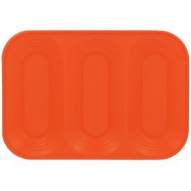 """Tacki Plastikowe PP """"X-Table"""" 3C Orange 330x230mm (30 Sztuk)"""