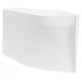 Disposable Chef Hat Pill Box White (100 Units)