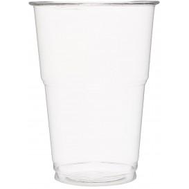 Kubki Plastikowe PET Szkło Przezroczyste 350 ml (50 Sztuk)