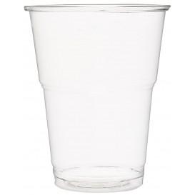 Kubki Plastikowe PET Szkło Przezroczyste 285 ml (50 Sztuk)