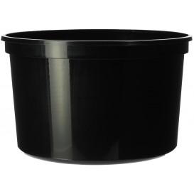 Miski Plastikowe Czarni PP 500ml Ø11,5cm (500 Sztuk)