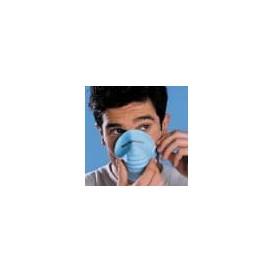 Maska Ochronna Przeciwpyłowa Polipropylen Niebieski (50 Sztuk)
