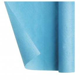 Obrus Papierowy w Rolce Niebieski Światło 1,2x7m (25 Sztuk)