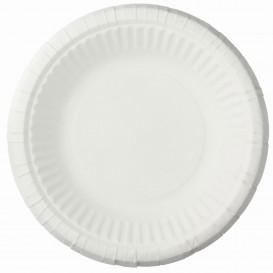 Talerz Papierowe Głębokie Białe Ø19cm (50 Sztuk)