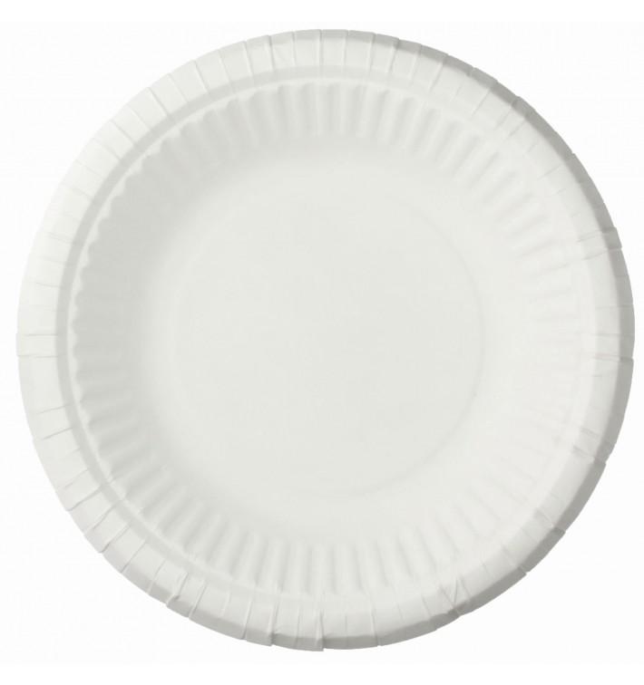 Talerz Papierowe Głębokie Białe Ø19cm (1000 Sztuk)