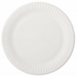 Plato de Papel Blanco Ø15 cm (100 Uds)