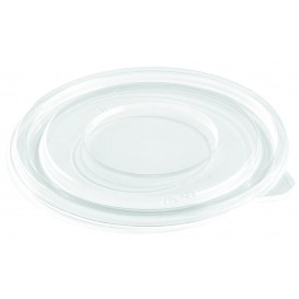 Wieczko Płaskie Plastikowe na Miski PET Ø140mm (50 Sztuk)