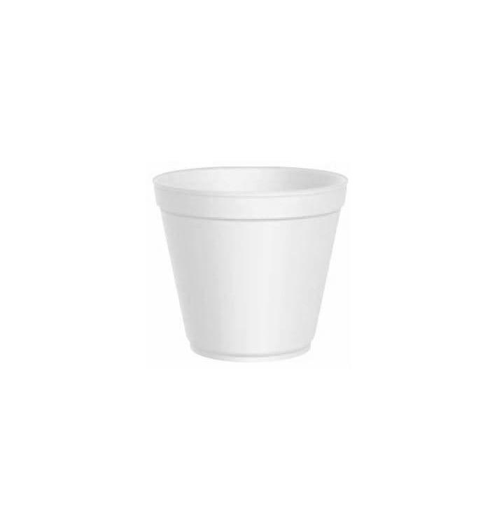Miski Termiczni Styropianowe Białe 20 Oz/600ml Ø11,7cm (500 Sztuk)