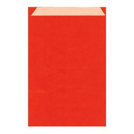 Koperty Papierowe Kraft Czerwerne 19+8x35cm (750 Sztuk)