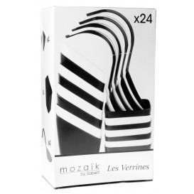 Kit Miniaturas do Degustacji Białe i Czarni 24 pzas (1 Kit)