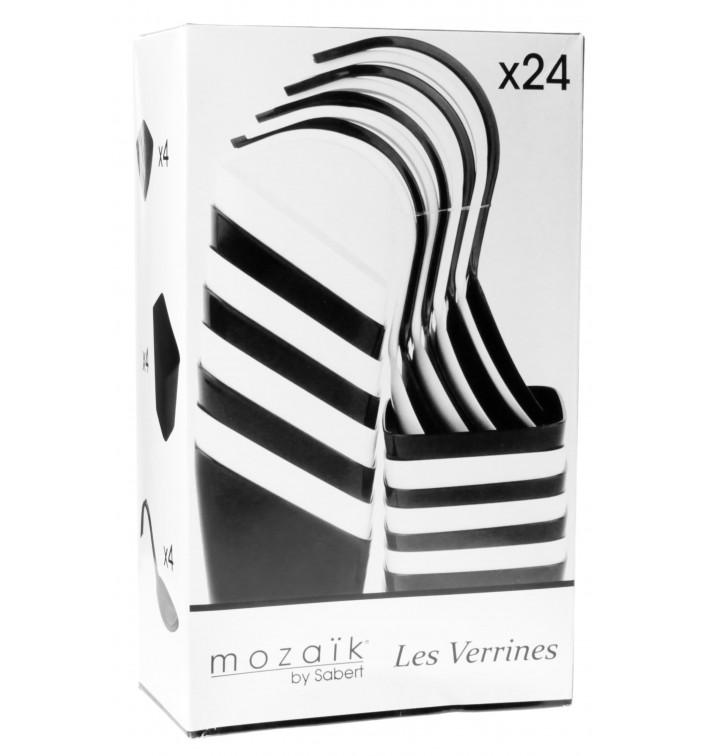 Kit Miniaturas do Degustacji Białe i Czarni 24 pzas (12 Kits)
