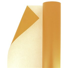 Paper Roll of Gift Wrap Cellulose Orange 100m (1 Unit)