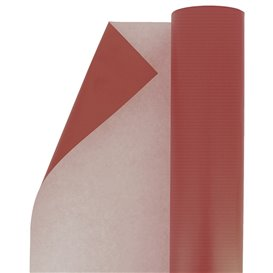 Paper Roll of Gift Wrap Kraft Red 100m (1 Unit)