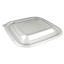Pokrywka Plastikowe PET na Miski Zamykane na Gorąco 120x120x70mm (300 Sztuk)
