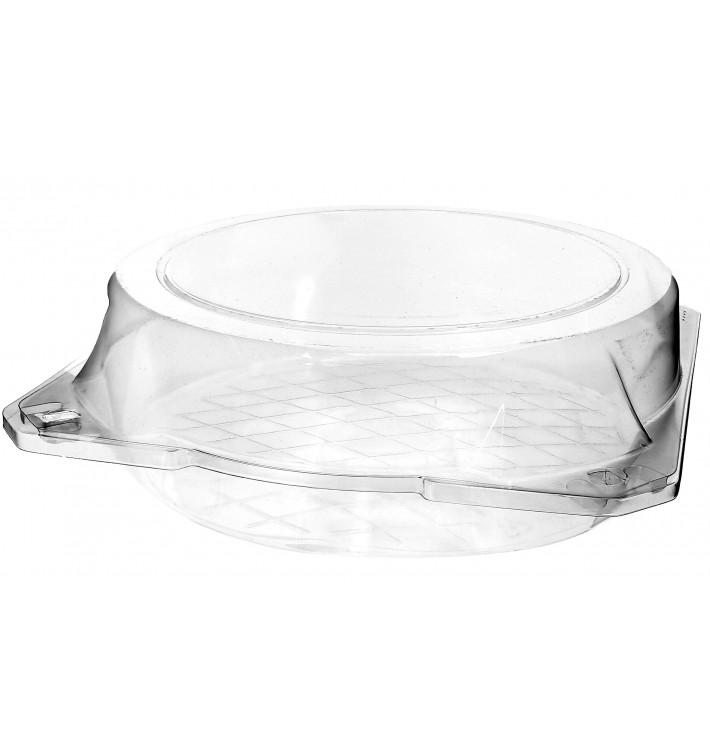 Pojemniki Pokrywka do Zawiasie Pieczenia PET Ø23x8cm (23 Sztuk)