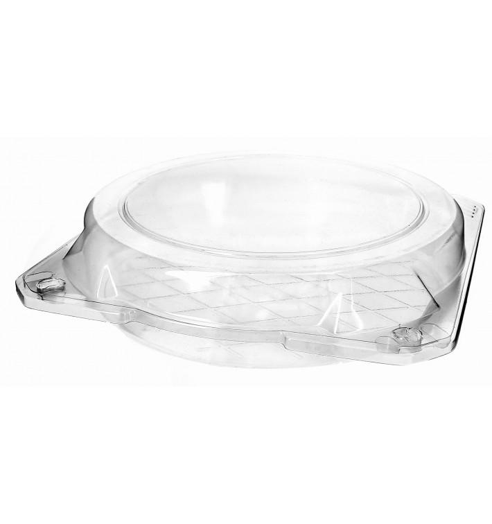 Envase Tapa Bisagra para Respotería PET Ø20x5cm (115 Uds)