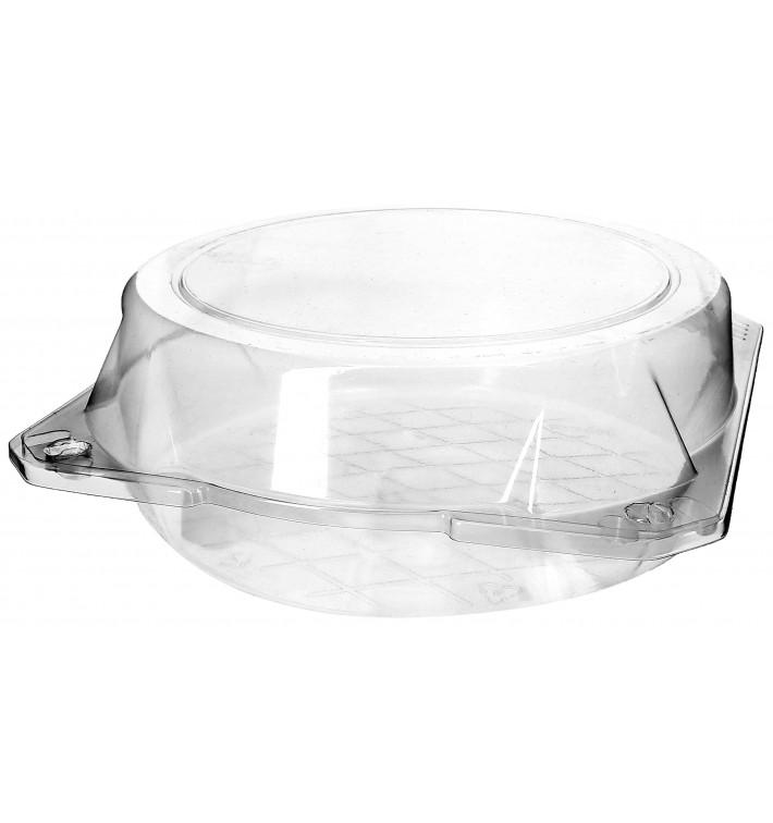 Envase Tapa Bisagra para Respotería PET Ø20x8cm (115 Uds)