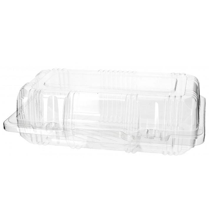 Envase Tapa Bisagra para Respotería PET 18x9,5x6cm (220 Uds)