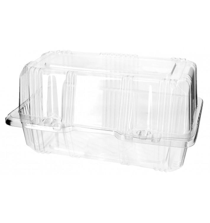 Envase Tapa Bisagra para Respotería PET 18x9,5x10cm (20 Uds)