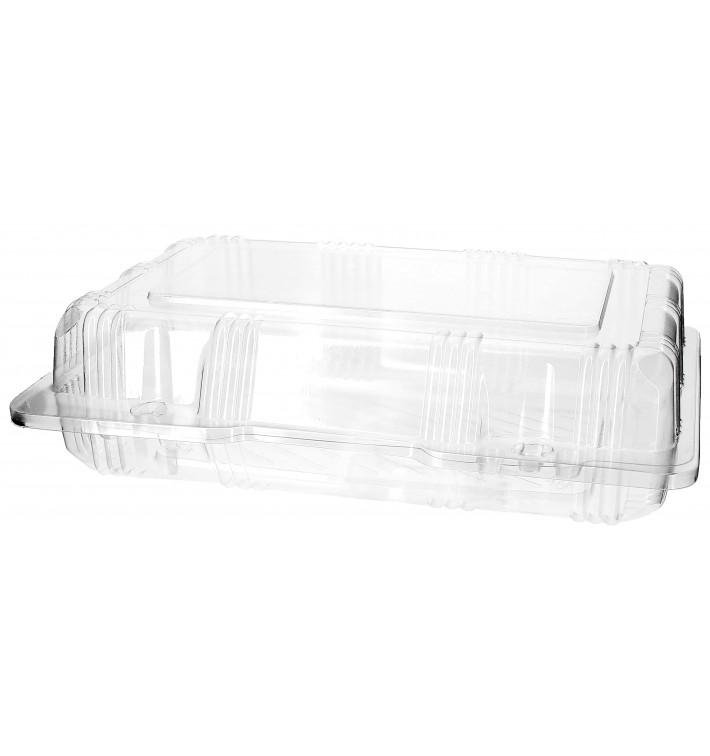Envase Tapa Bisagra para Respotería PET 22x14,5x6cm (220 Uds)