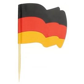 """Wykałaczki z Flagami """"Alemania"""" 65mm (14.400 Sztuk)"""