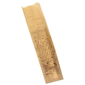 "Miski Papierowe ""Siega"" Kraft 9+5x32cm (1000 Sztuk)"