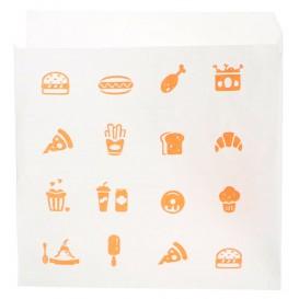 "Miski Papierowe Otwarte 2L ""Saky Food"" 15x15cm (3000 Sztuk)"