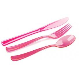 Kit Sztućców Plastikowe Widelczyki, Nóż, Łyżka Malina (1 Kit)
