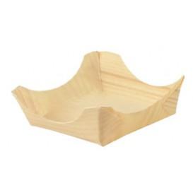 Pine Leaf Boat Tray 7,5x7,5x3cm (1000 Units)