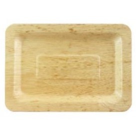 Tacki Finger Food Bambusowe - Opakowanie na wynos 20x14x1cm (10 Sztuk)