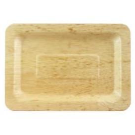 Tacki Finger Food Bambusowe - Opakowanie na wynos 20x14x1cm (100 Sztuk)