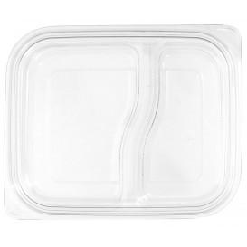 Wieczko Płaskie Plastikowe dla Pojemniki PET 18x15cm (75 Sztuk)