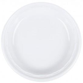 "Talerz Plastikowe PS ""Famous Impact"" Białe Ø280mm (500 Sztuk)"